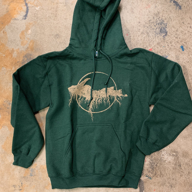 Clearance - unisex small Forest yooper hoodie