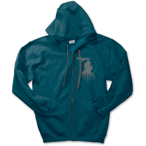 MI Roots - Unisex Zip-Up Hoodie