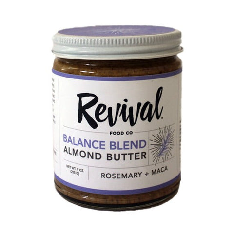 Revival food co balance blend almond butter
