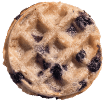 Load image into Gallery viewer, Paleo vegan gluten-free blueberry waffle