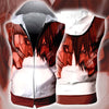 Armored Titan versus Eren Yeager Hooded Tank Top - 3D Printed Sleeveless Hoodie
