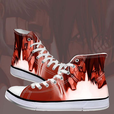 Armored Titan versus Eren Yeager Titan - 3d Printed Attack On Titan Shoes
