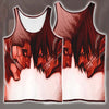 Armored Titan versus Eren Yeager Titan - 3D Printed Attack On Titan Tank Top