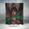 Eren Yaeger Transitioning - Attack On Titan 3D Printed Shower Curtain