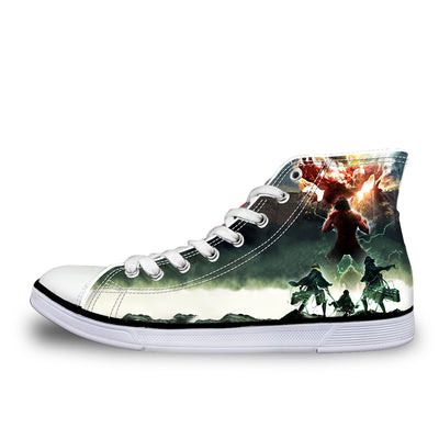 Eren Yeager Defending Wall - 3d Printed Attack On Titan Shoes
