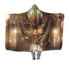 Eren Yeager Transforming - 3D Printed Attack On Titan Hooded Blanket