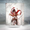 Mikasa Ackerman In Her Omni - 3D Printed Attack On Titan Shower Curtain