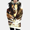 Eren Yaeger shown in Titan and Human - 3D Printed Attack On Titan Hoodie Dress