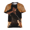 Levi in Tattered up Scout T-Shirt - Attack On Titan 3D T-Shirt