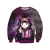 Alluka Targeting Purple Sweatshirt - Hunter x Hunter 3D Printed Sweatshirt