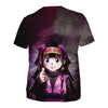 Alluka Targeting Purple T-Shirt - Hunter x Hunter 3D Printed T-Shirt