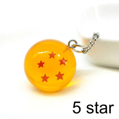Anime Dragon Ball Z Crystal Ball Keychain