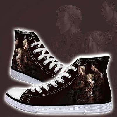 Annie, Reiner & Bertholdt  - 3D Printed Attack On Titan Shoes