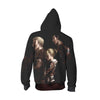 Annie, Reiner & Bertholdt Zip Up Hoodie - Attack on Titan Zip Up Hoodie