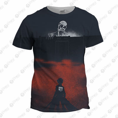 Attack on Titan COLOSSAL TITAN 3D Printed T-Shirt & Sweatshirt