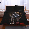 Alphonse Elric Sitting In Dark Night  Bedset - Full Metal Alchemist 3D Printed Bedset