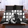 Near Holding A Dice Infront Of Screens Bedset - Death Note 3D Printed Bedset