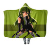 C.C Green Hooded Blanket - Code Geass 3D Printed Hooded Blanket