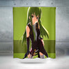 C.C Green Shower Curtain - Code Geass 3D Printed Shower Curtain
