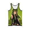 C.C Green Tank Top - Code Geass 3D Printed Tank Top
