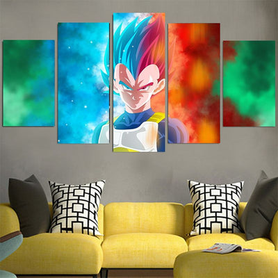 Dragon Ball Z Canvas - 3D Printed DBZ Canvas