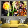Cool Dragon Ball Z Theme Canvas - 3D Printed DBZ Canvas