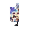 Ultra Instinct Goku Hooded Blanket - 3D Printed DBZ Hooded Blanket