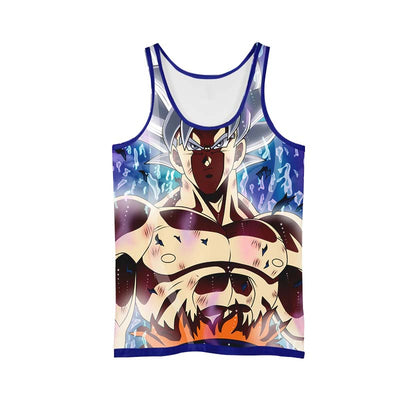Ultra instinct Goku - 3D Printed DBZ Tank Top