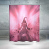 Kid Buu Shower Curtain - 3D Printed DBZ Shower Curtain
