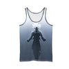 Dragon Ball Z Ultra Instinct Goku Minimalist - 3D Printed DBZ Tank Top