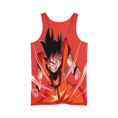 Dragon Ball Z Goku Powerstance - 3D Printed DBZ Tank Top
