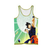 Dragon Ball Z Goku Spirit Bomb - 3D Printed DBZ Tank Top