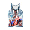 Dragon Ball Z Gohan - 3D Printed DBZ Tank Top