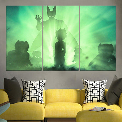 Perfect Cell Canvas - 3D Printed DBZ Canvas