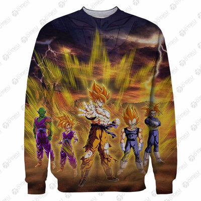 Dragon Ball Z Gohan Anime 3D Printed T-Shirt & Sweatshirt