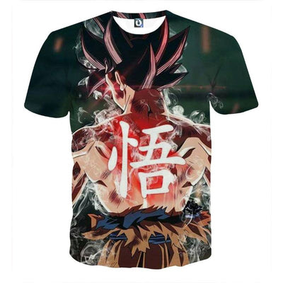 Dragon Ball Z Shirt - Goku Instinct Power Shirt - 3D T Shirt