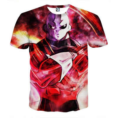 Dragon Ball Z Shirt - The Powerful Jiren Angry Style - 3D T-Shirt