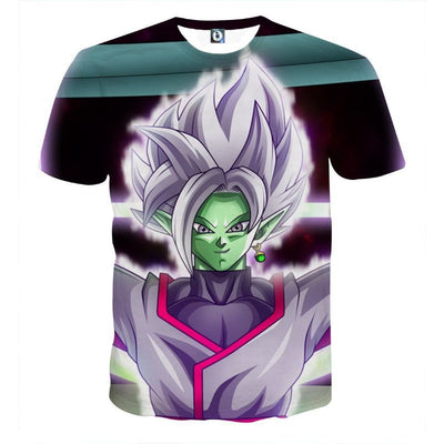 Dragon Ball Z Shirt - Zamasu In Action -3D T-Shirt