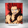 Eijiro Kirishima Red Shower Curtain - My Hero Academia 3D Printed Shower Curtain