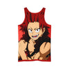 Eijiro Kirishima Red Tank Top - My Hero Academia 3D Printed Tank Top