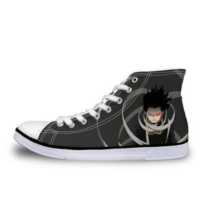 Eraserhead Shoes - My Hero Academia 3D Printed Shoes