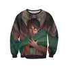 Eren Yaeger Transitioning Sweatshirt - Attack on Titan 3D Printed Sweatshirt
