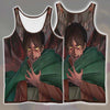 Eren Yaeger Transitioning Tank Top - 3D Printed Attack On Titan Tank Top