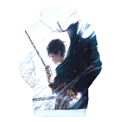 Eren Yeager Cool Hoodie- Attack On Titan 3D Hoodie