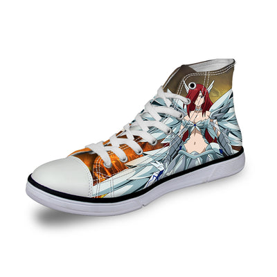 Erza Heavens Wheel Armor Shoes - Fairy Tail 3D Printed Shoes