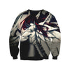 Erza Scarlet Heaven's Wheel Armor Sweatshirt - Fairy Tail 3D Printed Sweatshirt
