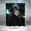 Erza Scarlet Night Suit Shower Curtain - Fairy Tail 3D Printed Shower Curtain