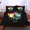Erza Scarlet Standing Calm Bedset - Fairy Tail 3D Printed Bedset