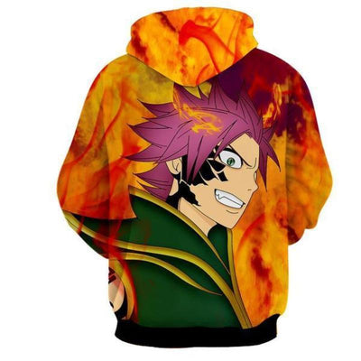 Fairy Tail Zeref Vs Natsu Dragneel Fairy Tail Pullover Hoodie