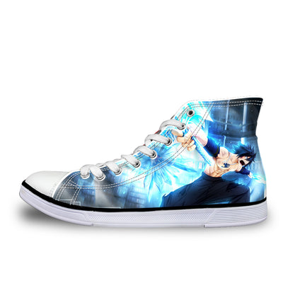 Fairy Tail Gray Ice Shoes - Fairy Tail 3D Printed Shoes